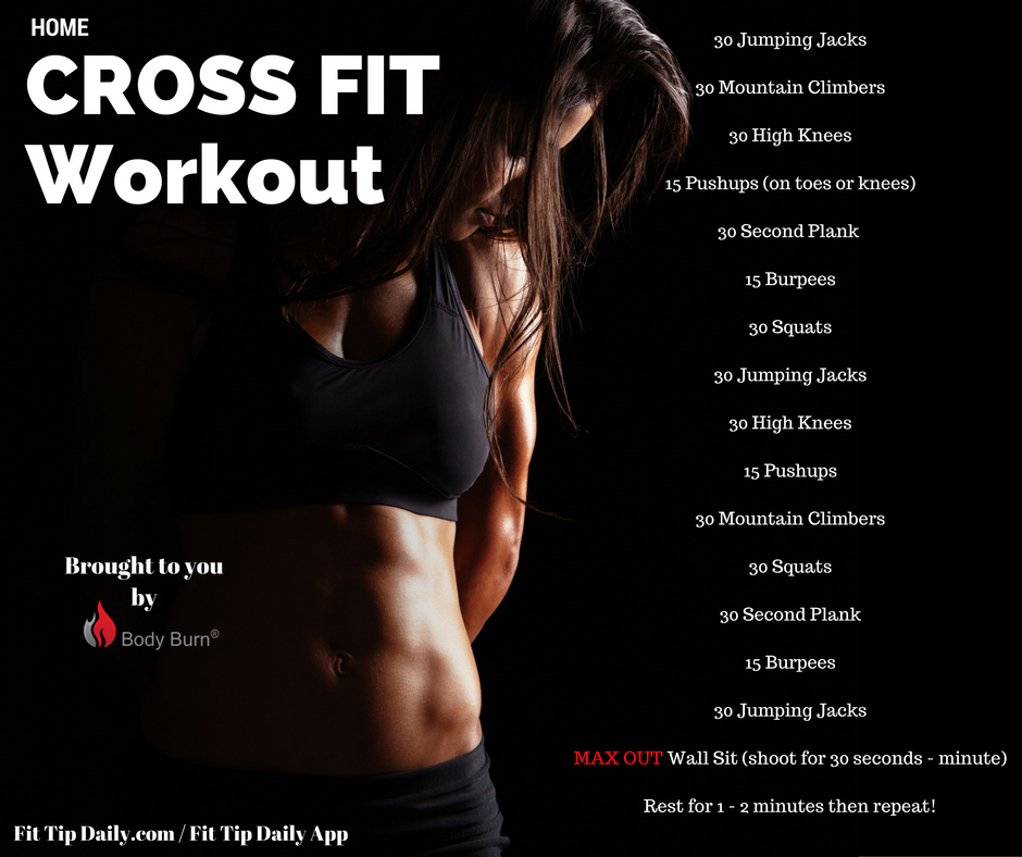 Crossfit Workouts: Crossfit Workouts At Home