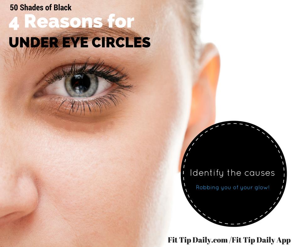 50 shades of Black - 4 Reasons You Have Dark Under Eye ...