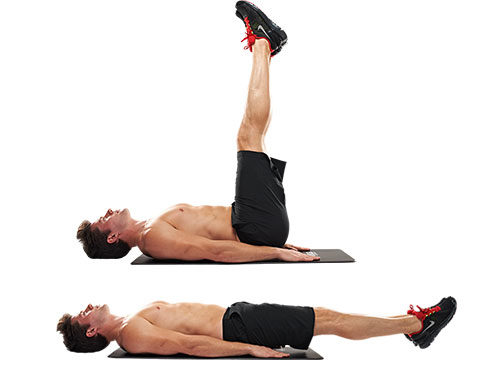 The low down on lower ab exercises fit tip daily for Floor ab workouts