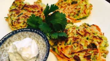 Low Carb Monday – Vegetable Fritters